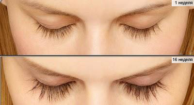 Карепрост для роста ресниц фото до и после